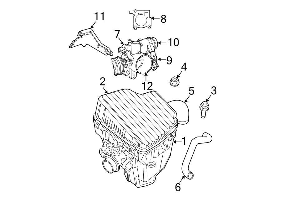 Dodge Neon Throttle Position Sensor. Engine, Acceleration