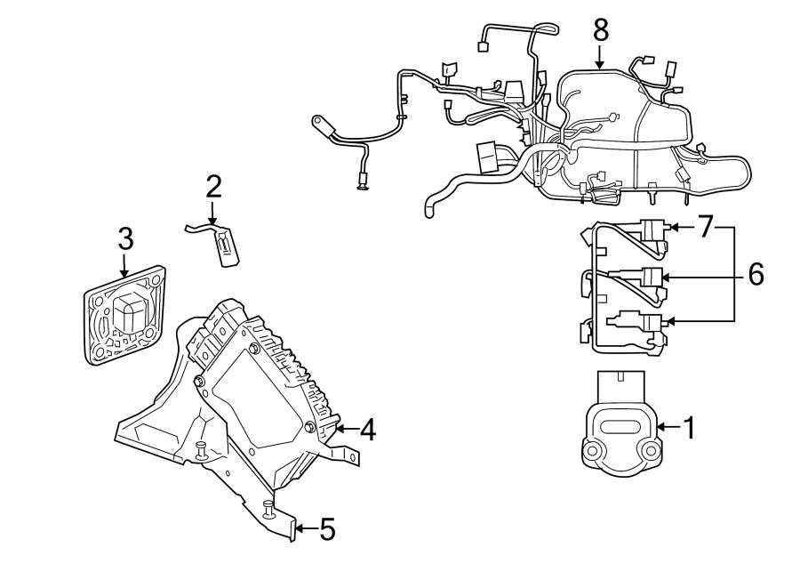 Dodge Stratus Spark Plug. 2.7 LITER. Convertible, 2.7