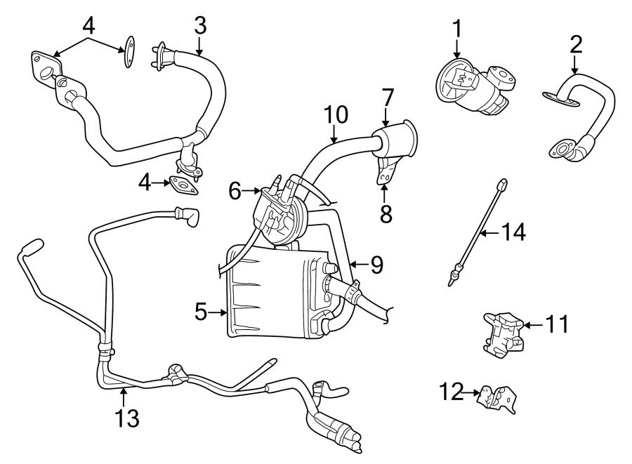 Dodge Stratus Oxygen Sensor (Front, Rear, Upper, Lower