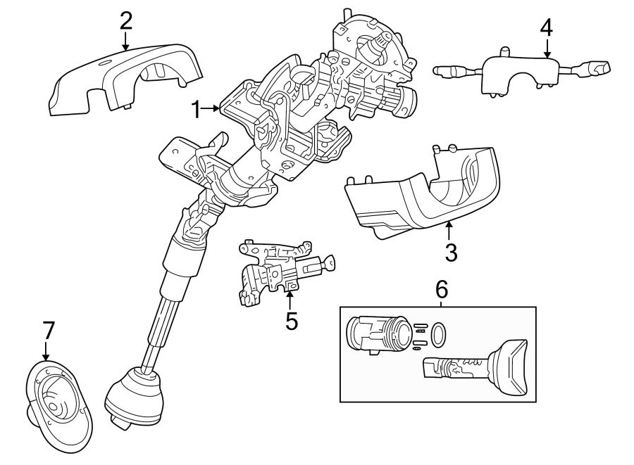 Dodge Stratus Column ASSEMBLY. Steering Column. Manual