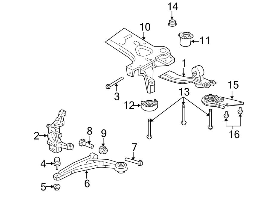 Dodge Avenger Suspension Control Arm. Right, Sedan