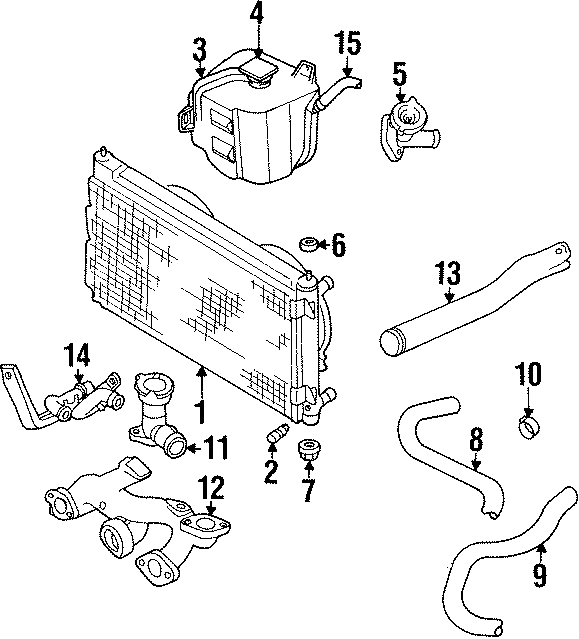 Dodge Stratus Radiator Drain Plug. LITER, Valve