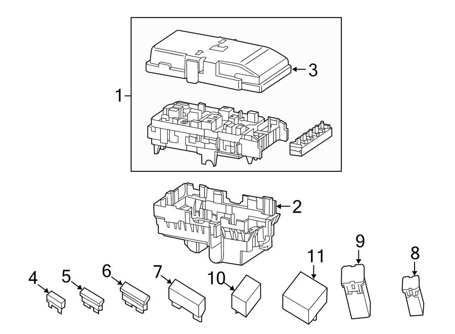 Chrysler 200 Distribution box. Fuse Box. INTELLIGENT POWER