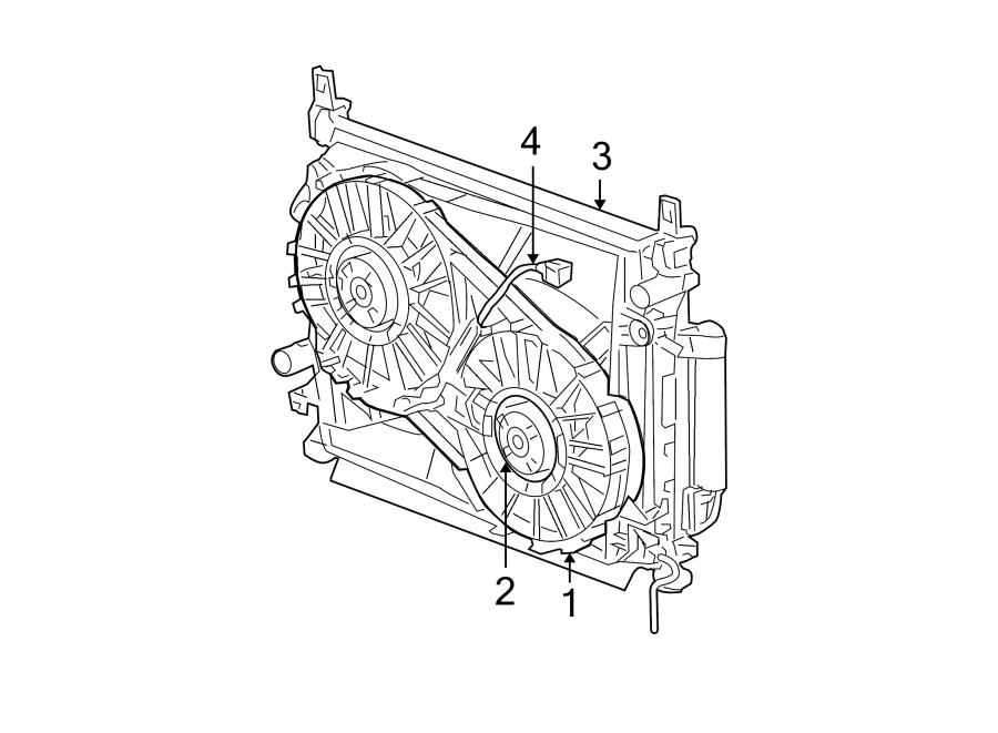 Dodge Magnum Engine Cooling Fan Shroud. LITER, Make