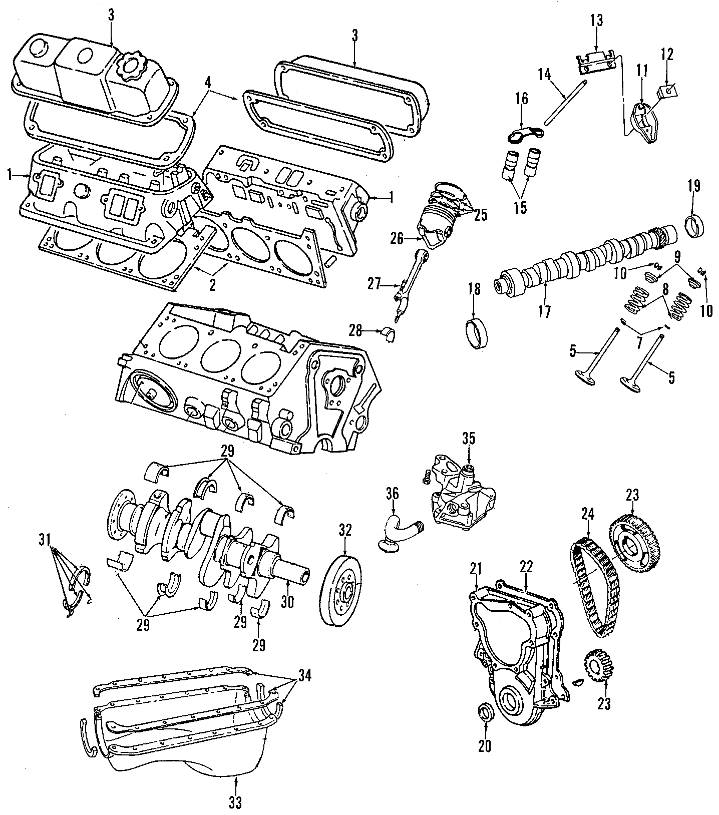 Dodge Dakota Engine Rocker Arm. Engine Rocker Arm. ROCKER