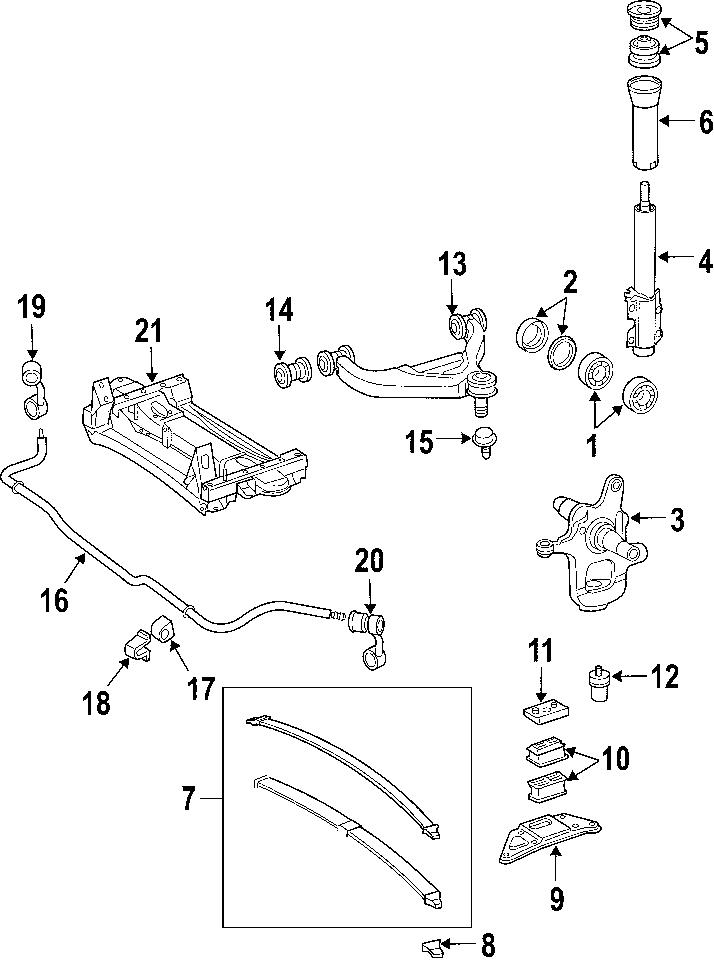 Dodge Sprinter 2500 Suspension Ball Joint (Upper, Lower