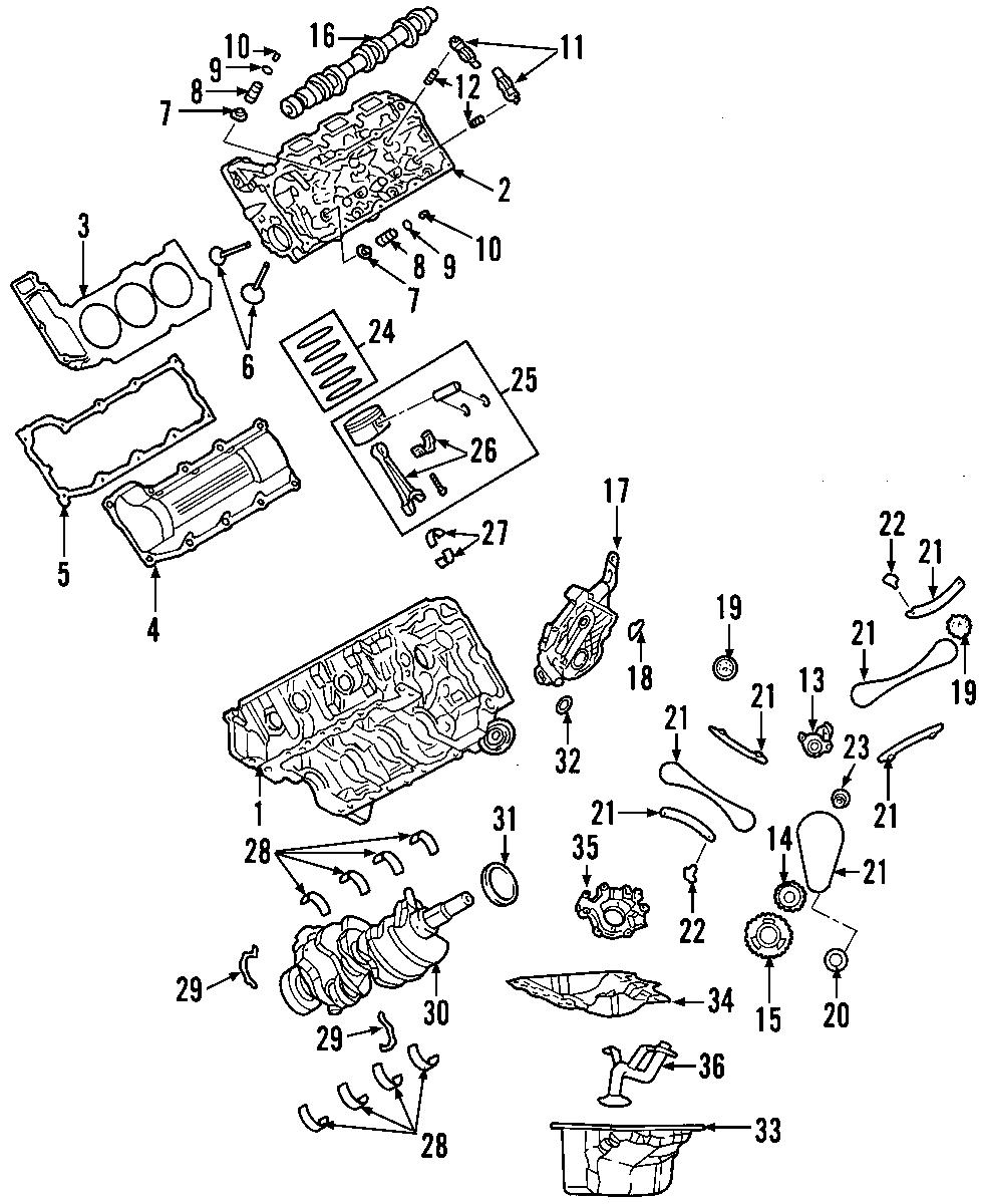Dodge Dakota Engine Mount. Insulator. (Front). Dakota; 4WD