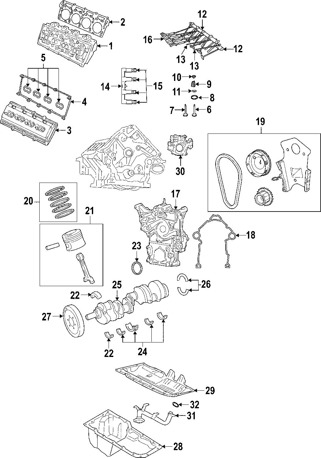 Jeep Commander Engine Camshaft Follower (Lower