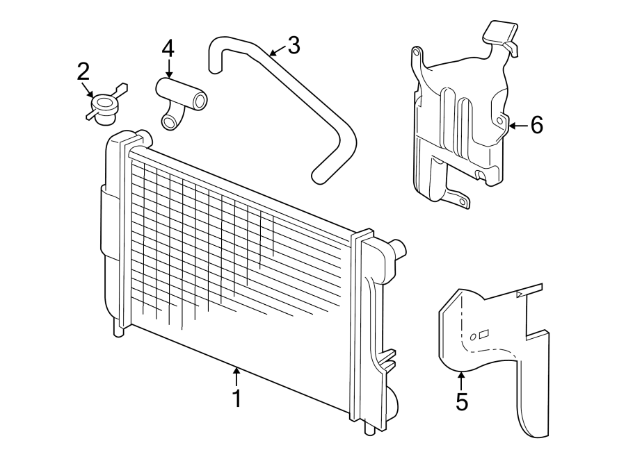 Dodge Dakota Radiator Coolant Hose (Upper, Lower