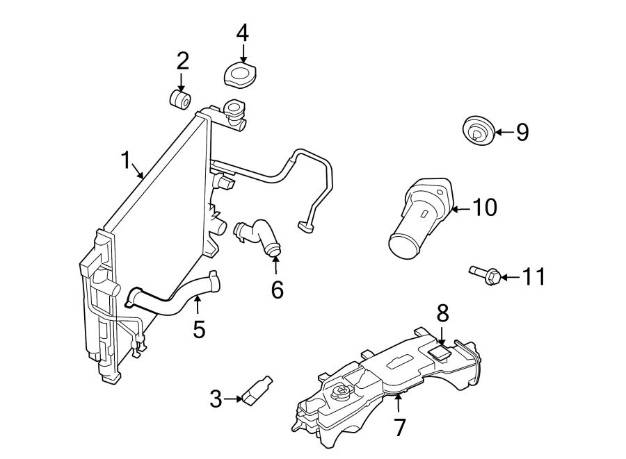 Dodge NITRO Radiator Coolant Hose (Lower). 4.0 LITER