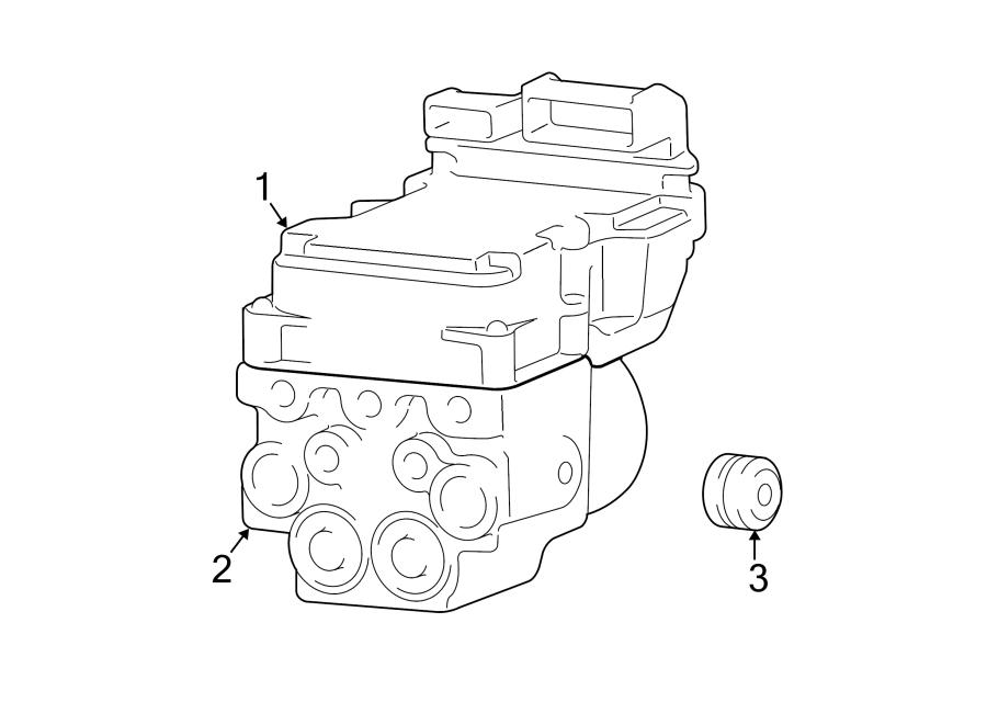 Dodge Ram 2500 Abs control module. Light, repair, warning
