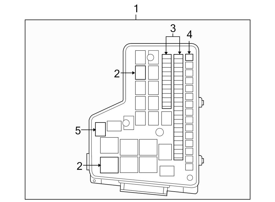 Ram 3500 Circuit Breaker. PASSENGER, Maxi, COMPARTMENT