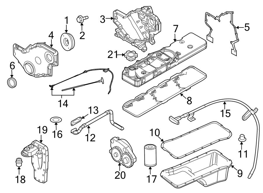 Ram 3500 Engine Crankshaft Seal. 6.7 LITER TURBO DIESEL