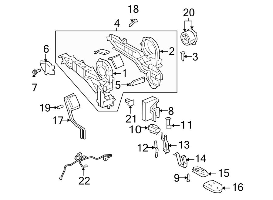 Dodge Ram 3500 Hvac blower motor screw (rear). 2006. Mega