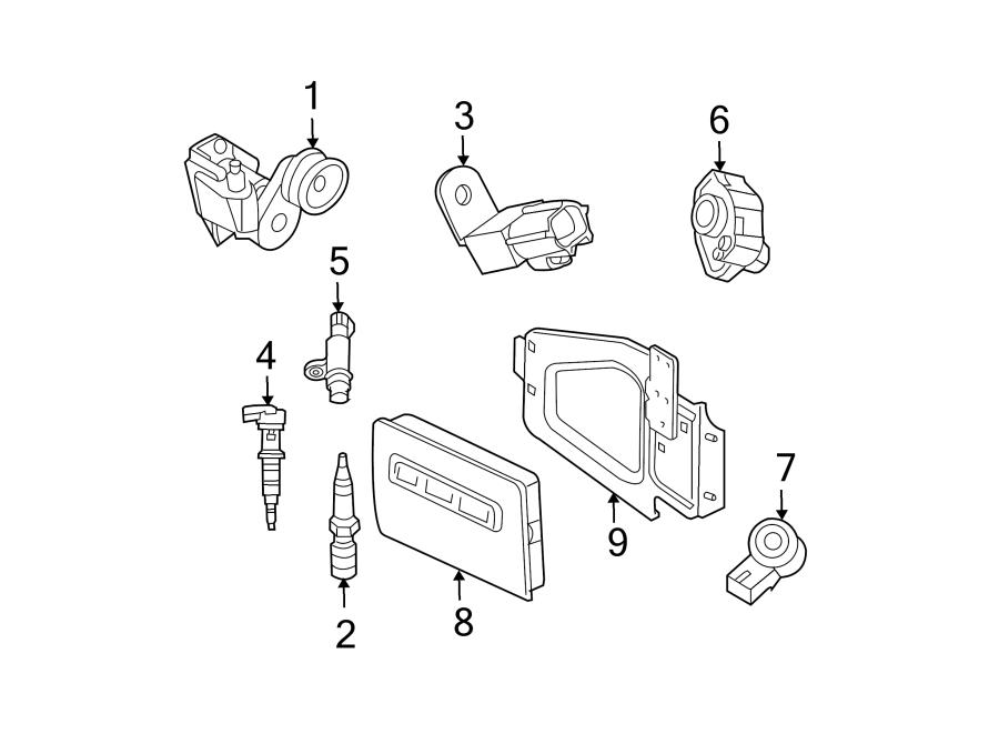 Dodge Dakota Capacitor. Igniter. Ignition. Liter, system
