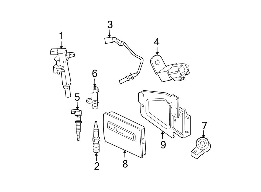 Dodge Ram 1500 Module. Control. ECM. Engine. PCM