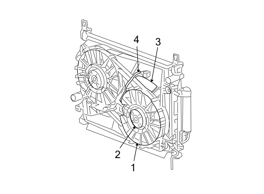 Dodge Challenger Fan motor. Wire harness. Wiring. Liter