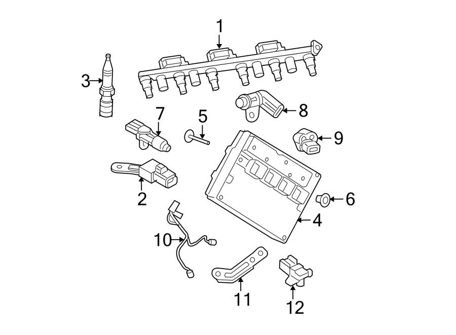 Jeep Grand Cherokee Throttle Position Sensor. Liter