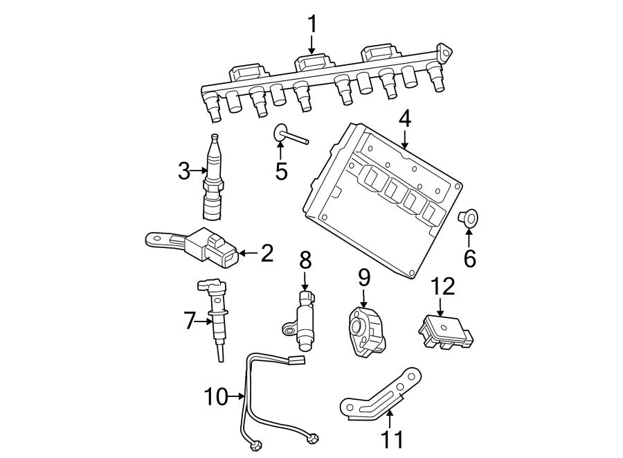 Jeep Grand Cherokee Ignition Knock (Detonation) Sensor