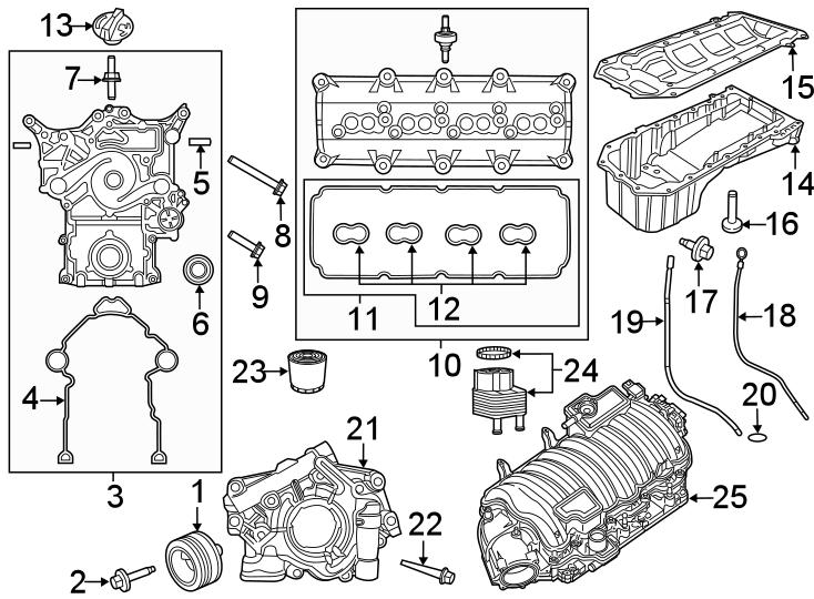 Jeep Grand Cherokee Engine Oil Dipstick Tube. 6.4 LITER