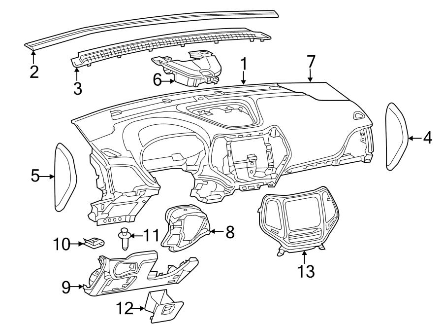 Jeep Cherokee Dashboard Panel. Instrument, Make