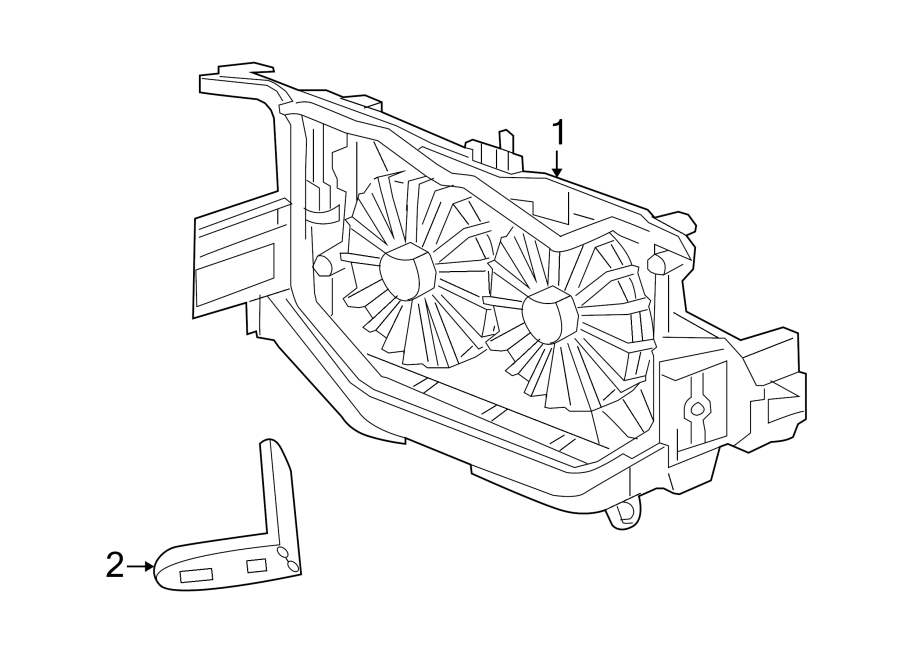 Jeep Compass Engine Cooling Fan Assembly. Trans, Manual