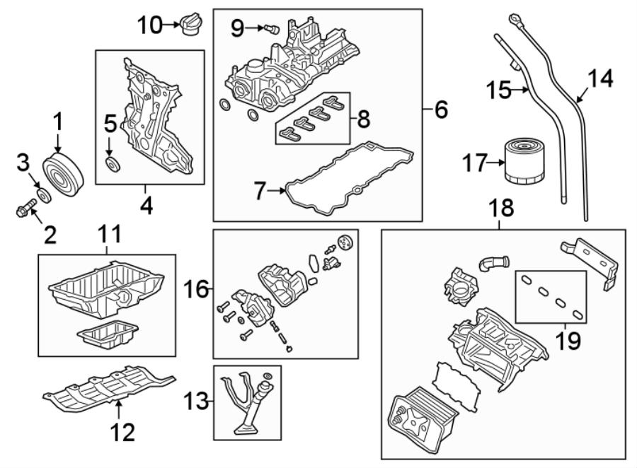 Jeep Wrangler Engine Timing Cover. 2.0 LITER. Wrangler