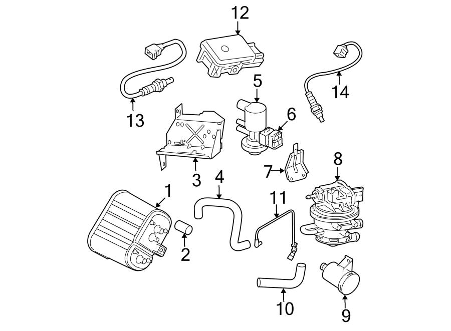 Jeep Wrangler Oxygen Sensor. EMISSION, Liter, Repair