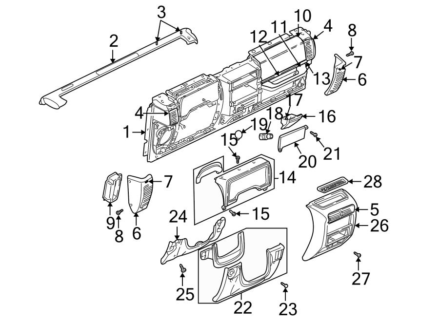 Jeep Wrangler Dashboard Panel. Instrument, Make