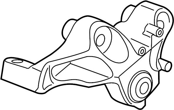 Chrysler Voyager Engine Torque Strut Mount. Pacifica; w/o