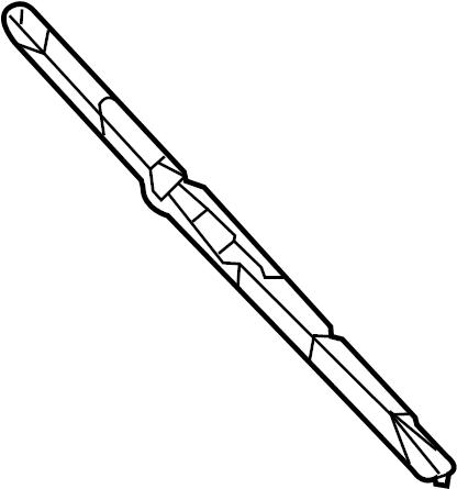 Chrysler Voyager Windshield Wiper Blade (Front