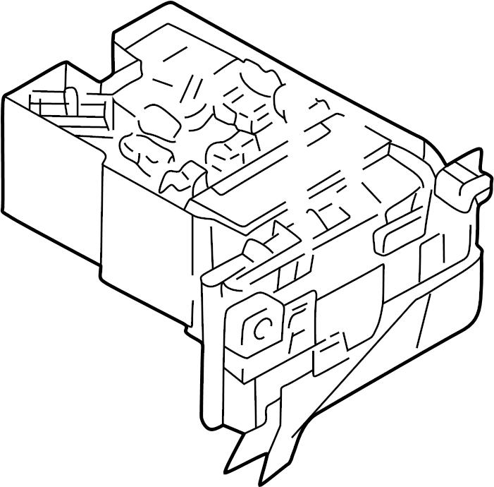 Chrysler Sebring Distribution box. A component that houses