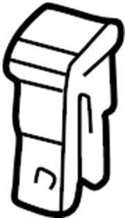 Chrysler Sebring Fuse. Fusible link. 60 amp. Components on