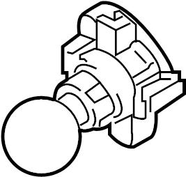 Chrysler 300 Headlight Bulb. 300; Front Turn Signal. W/HID