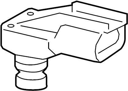 Jeep Wrangler Manifold Absolute Pressure Sensor. LITER