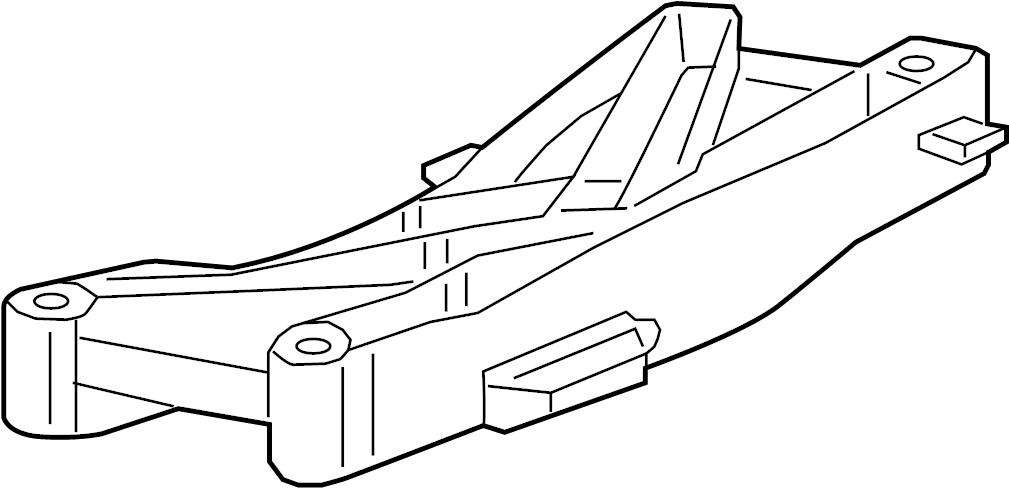Dodge Charger Transmission Crossmember. LITER, AWD, Manual
