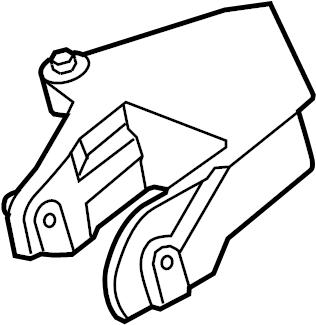 Dodge Avenger Mount. BRACKET. Engine. Transmission. 2.4