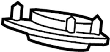 Chrysler Sebring Suspension Strut Mount. COMPONENTS, FRONT