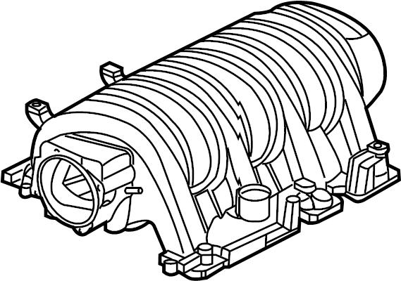Dodge Challenger Engine Intake Manifold. LITER, Grand, FCA