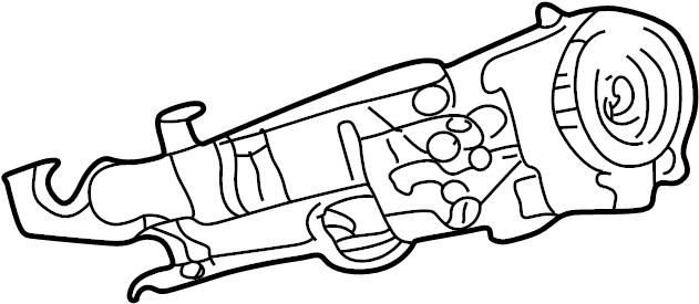 Dodge Ram 1500 Steering column. W/o tilt, auto trans