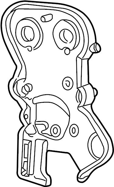 Dodge Stratus Engine Timing Cover. Inner, LITER, Sedan
