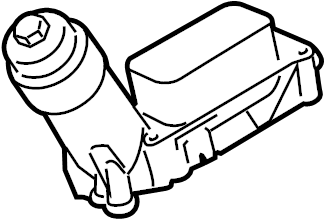 Jeep Wrangler Filter. Oil. Engine. Housing. ADAPTER. 3.6
