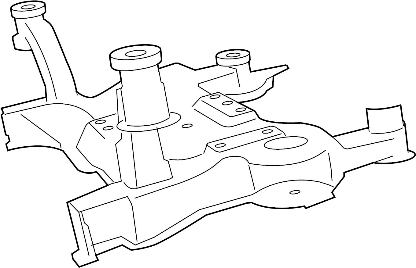 Dodge Grand Caravan Suspension Subframe Crossmember (Front