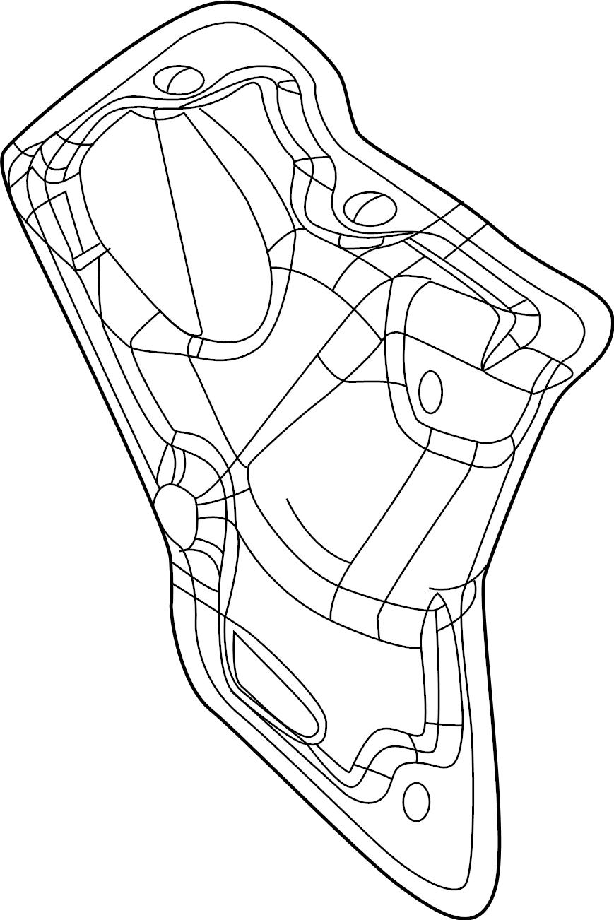 Dodge Durango Starter Heat Shield. 5.7 LITER. 6.4 LITER
