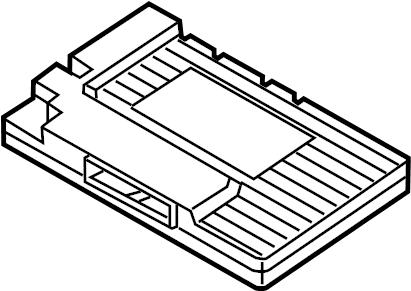 Dodge Charger Radio Amplifier. 2015-20, 276 watt. 276 watt