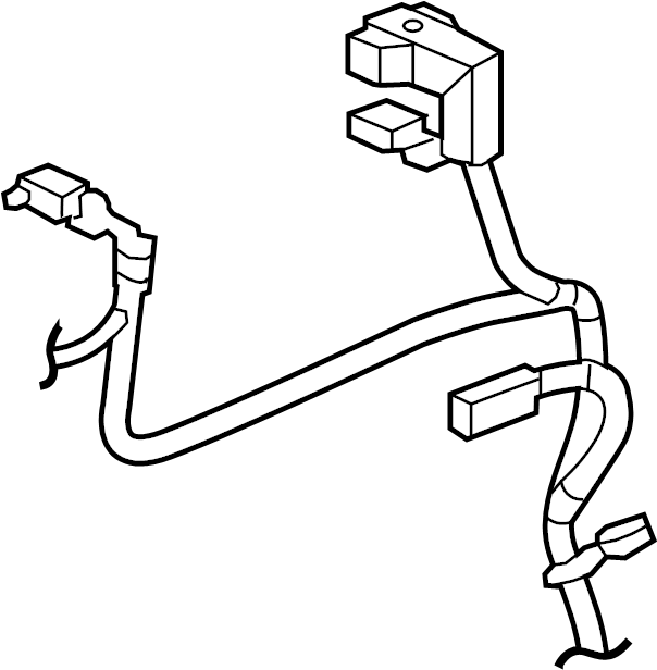 Jeep Grand Cherokee Battery Cable Harness. 3.0 LITER