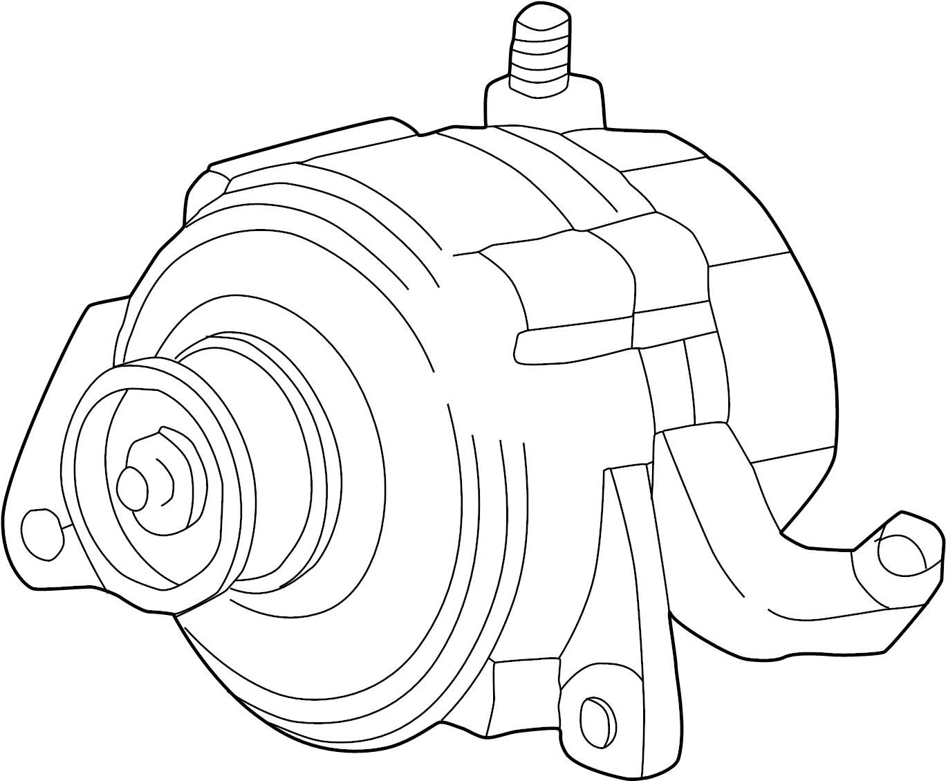 Jeep Grand Cherokee Alternator. LITER, Amp, Battery