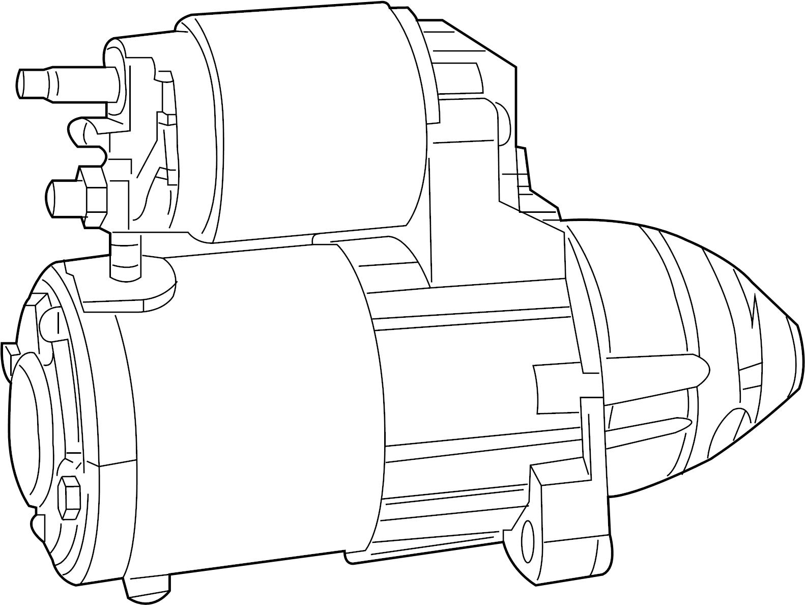 Chrysler Sebring Starter Motor