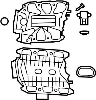Jeep Wrangler Engine Oil Pump Cover. 3.8 LITER. Wrangler
