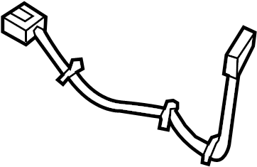 Dodge Ram 1500 Console Wiring Harness. 1994-98, w/o temp